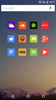 Screenshot of Square Icon Pack
