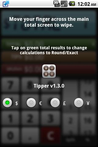 Tipper - Tip Calc- screenshot