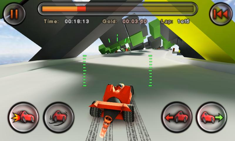 Jet Car Stunts Lite - screenshot