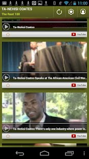 Ta-Nehisi Coates: The Root 100 - screenshot thumbnail