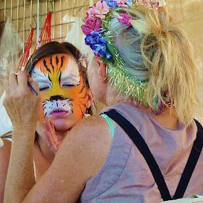 Tiger by Samantha Linn - People Street & Candids (  )