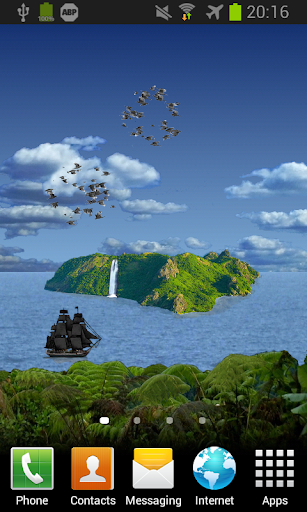 Island HD Free Live Wallpaper