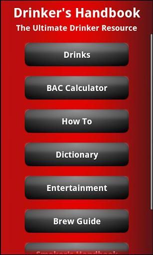 The Drinker's Handbook