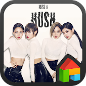 miss A dodol launcher theme