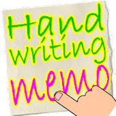 Handwritten notes Finger Memo