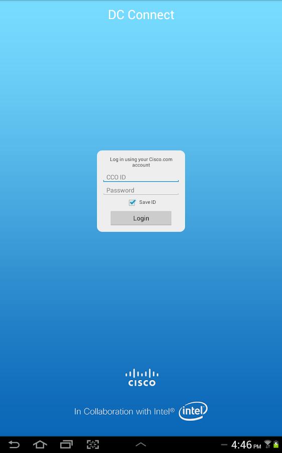 Cisco Data Center Connect - screenshot
