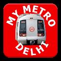 Delhi Metro (DMRC) icon