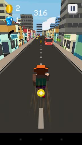 Police city runner