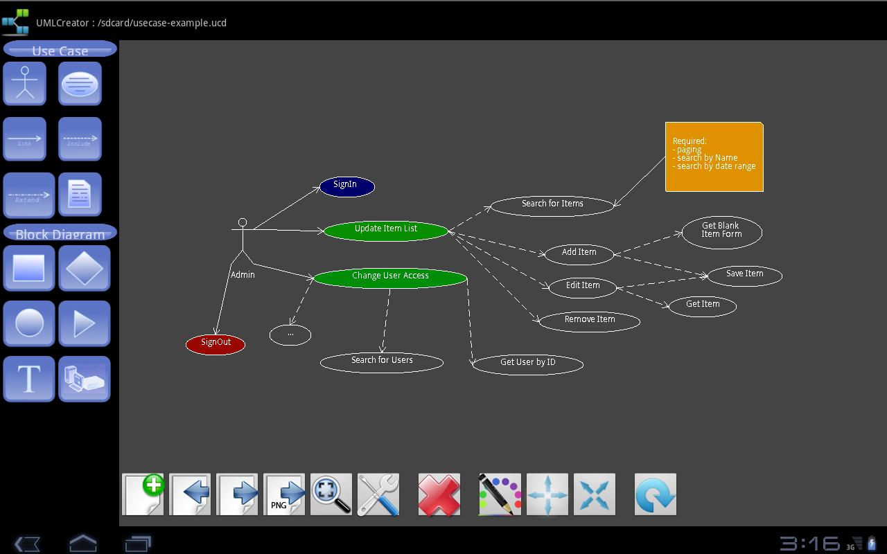 UML Creator - screenshot