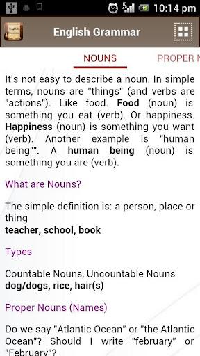 English Grammar Book  screenshots 3