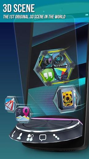 Next Launcher 3D Shell Lite  screenshots 2
