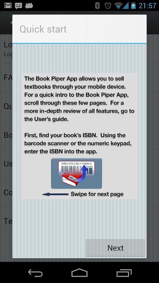 Book Piper- screenshot
