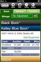Screenshot of NIADA Mobile VIN Scanner