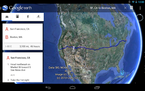 Google Earth - Android Apps on Google Play