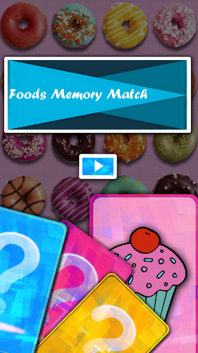 Foods Memory Match