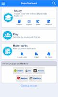 Screenshot of NBDE Flashcards
