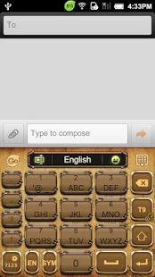 GO Keyboard Steam Punk theme - screenshot thumbnail