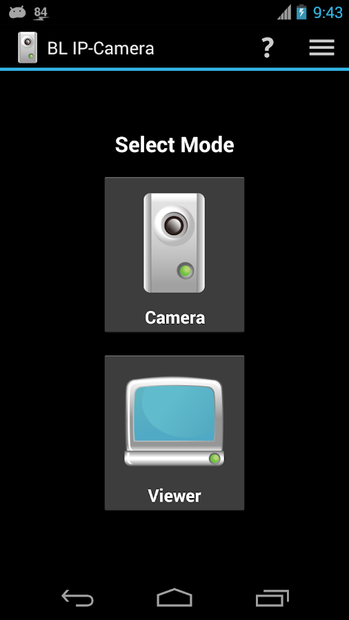 BL IP-Camera- screenshot