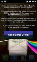 Screenshot of Mirror Droid