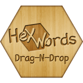 Hex Words: Drag-n-Drop Pro