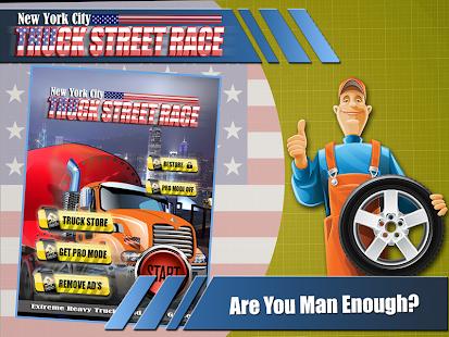 New York City Truck race