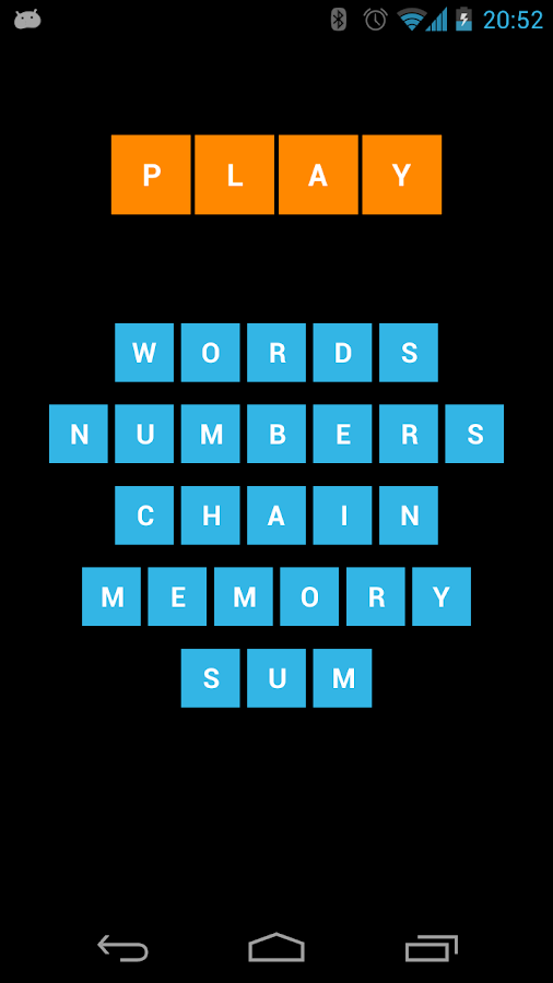FIND words and numbers Lite - screenshot