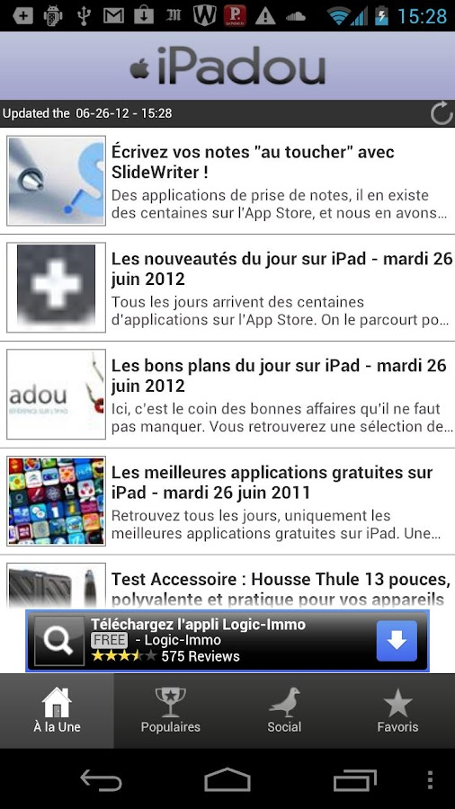 iPadou - screenshot