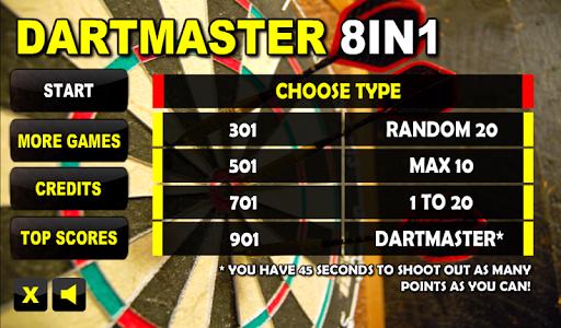 Dartmaster 8in1 PRO Free Darts