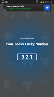 Today Lucky Number - screenshot thumbnail