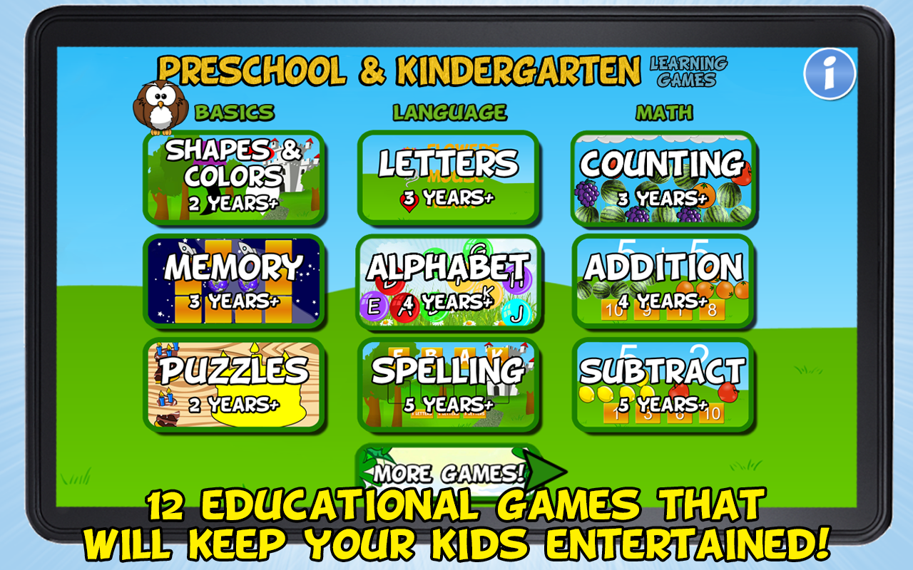 Preschool and Kindergarten - screenshot