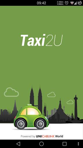 【免費交通運輸App】Taxi2U - Taxi Booking-APP點子