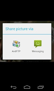 AndFTP (your FTP client) - screenshot thumbnail
