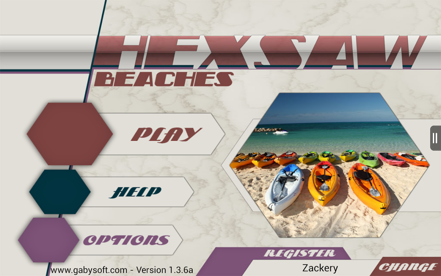HexSaw - Beaches- screenshot