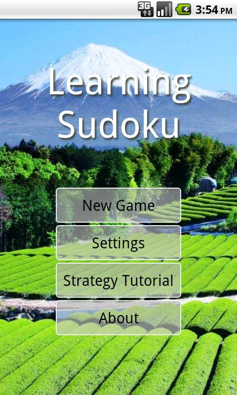 Sudoku Learning- screenshot