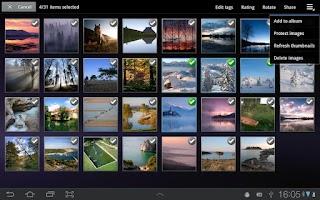 Screenshot of Infinity Photo Album