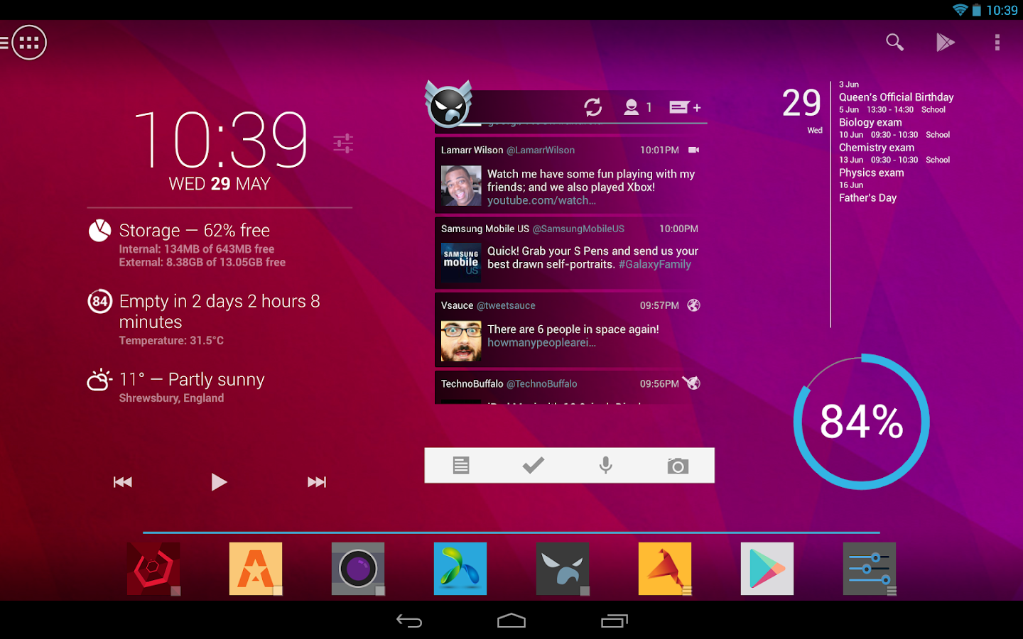 Action Launcher Pro - screenshot
