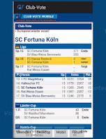 Screenshot of Club-Vote