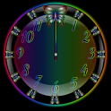 Butterfly Rainbow Clock Widget icon