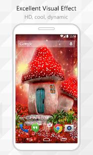 Fairy Mushroom Live Wallpaper