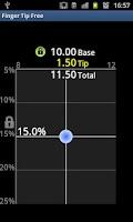 Screenshot of Tip Calculator: FingerTip Free