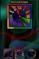 Screenshot of Rainbow Alarm Clock Widget