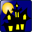 haunted mansion halloween icon