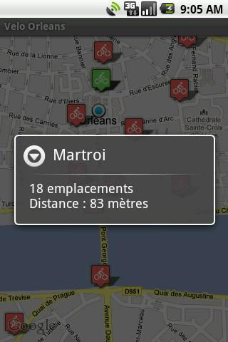 Vélo+ Orléans - screenshot