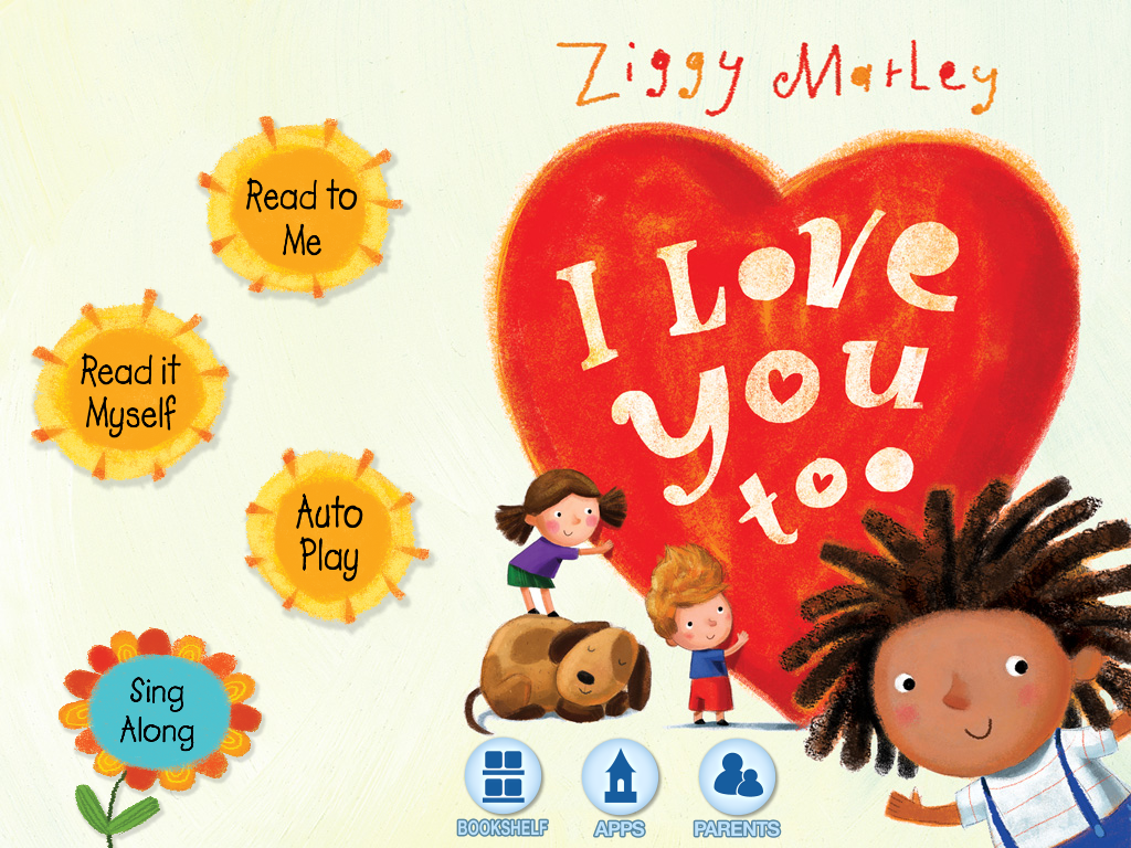 I Love You Too - Ziggy Marley - screenshot