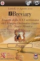 Screenshot of iBreviary
