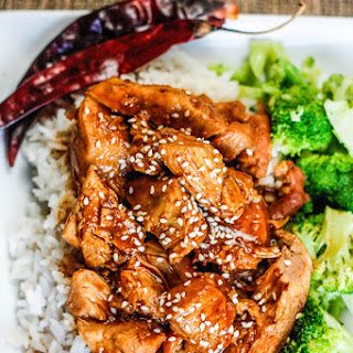 Slow Cooker General Tsao's Chicken