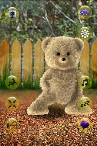 Talking Teddy Bear - screenshot
