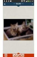 Screenshot of 画像を自動で「ぼかし」指でなぞった部分が元に戻る-BLUR-
