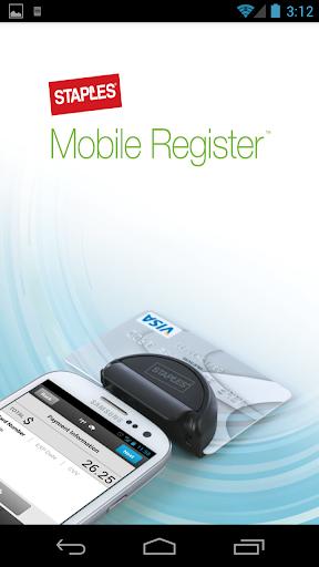 Staples Mobile Register