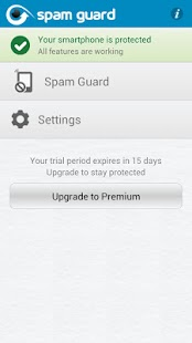 Spam Guard from syncNscan - screenshot thumbnail